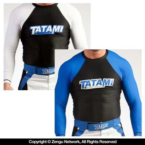 Tatami Tatami BJJ Ranked Long Sleeve Rashguard